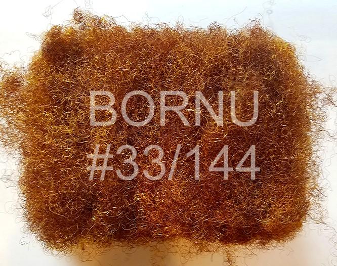 #33/144: Dark Auburn w/ tinge of gold highlights afro locking human hair locs